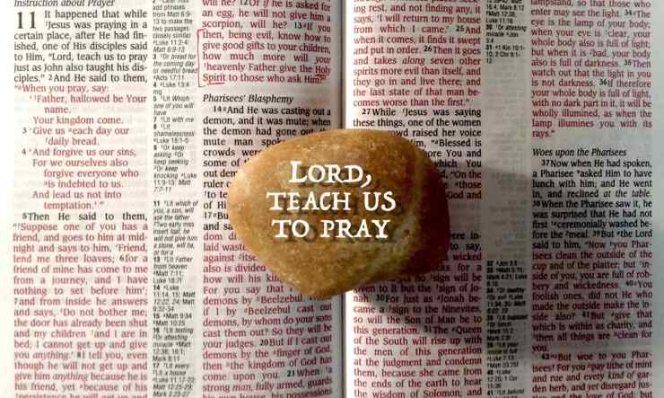 Lord teach us to pray d.g.h.delgado